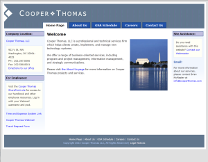 Cooper Thomas home page