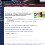 FOIA Office home page