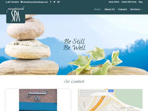Mountainside Spa Website
