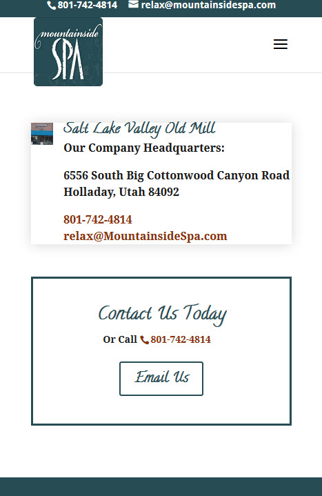 Mountainside Spa original site