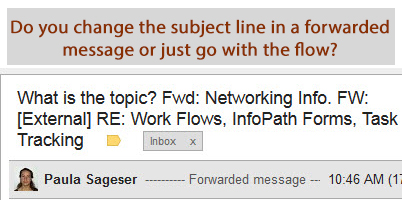 Effective Headers, Subject Lines and Titles