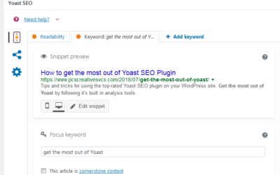 Get the Most out of Yoast