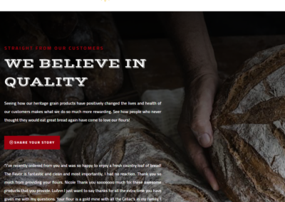 Theme Conversion – Sunrise Flour Mill