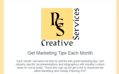 Monthly Digital Marketing Newsletter Invite